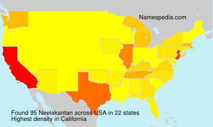 Surname Neelakantan in USA