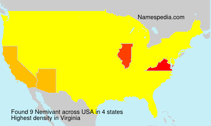 Surname Nemivant in USA