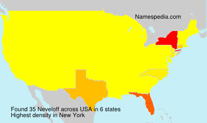 Surname Neveloff in USA