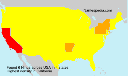 Surname Ninus in USA