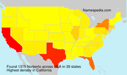 Surname Norberto in USA