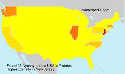 Surname Nychay in USA