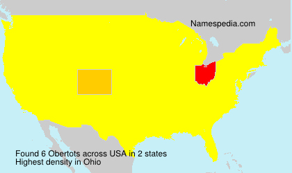 Surname Obertots in USA