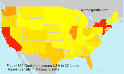 Surname Ocallahan in USA