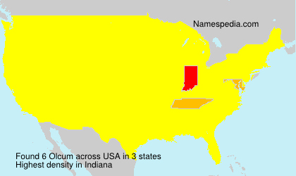 Surname Olcum in USA