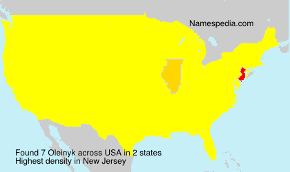 Surname Oleinyk in USA
