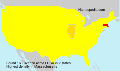 Surname Olivenza in USA