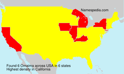 Surname Omaima in USA