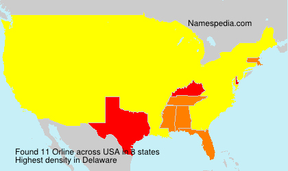 Surname Orline in USA