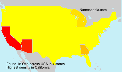Surname Otlo in USA