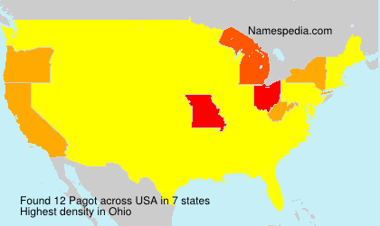 Surname Pagot in USA