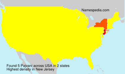 Surname Pajvani in USA