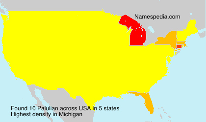 Surname Palulian in USA