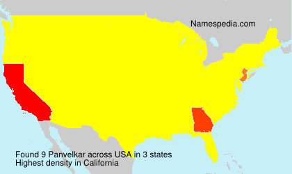 Surname Panvelkar in USA