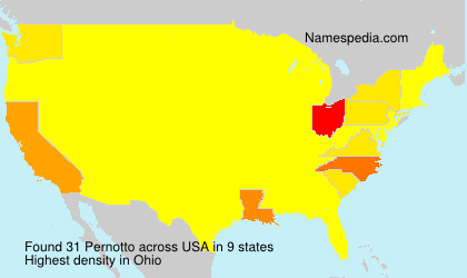 Surname Pernotto in USA