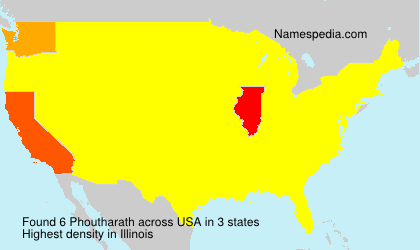 Surname Phoutharath in USA