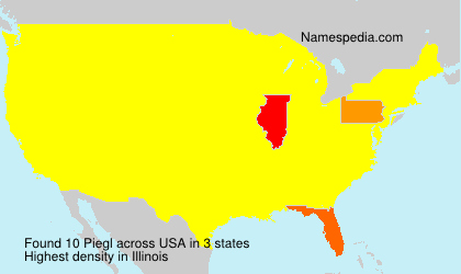 Surname Piegl in USA