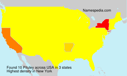 Surname Pituley in USA