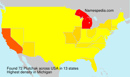 Surname Plutchak in USA