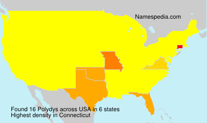 Surname Polydys in USA
