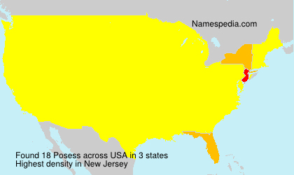 Surname Posess in USA