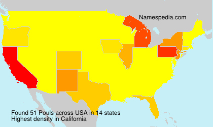 Surname Pouls in USA