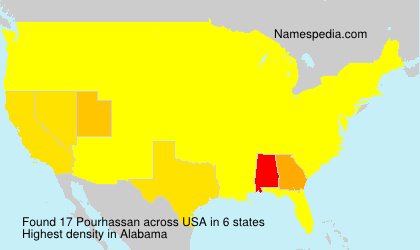 Surname Pourhassan in USA