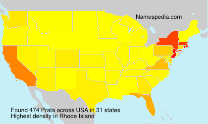Surname Prata in USA