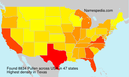 Surname Pullen in USA