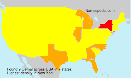 Surname Qemal in USA