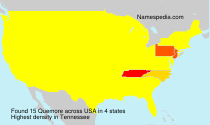 Surname Quemore in USA