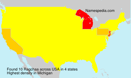Surname Ragchaa in USA