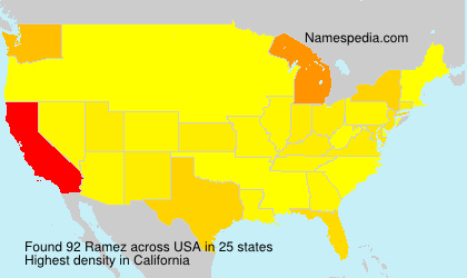Surname Ramez in USA