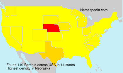 Surname Ramold in USA