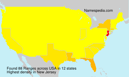 Surname Ranges in USA