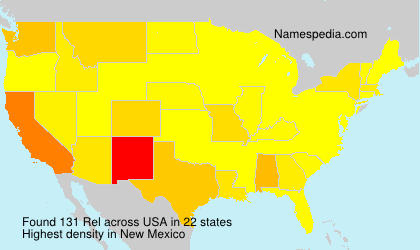 Surname Rel in USA