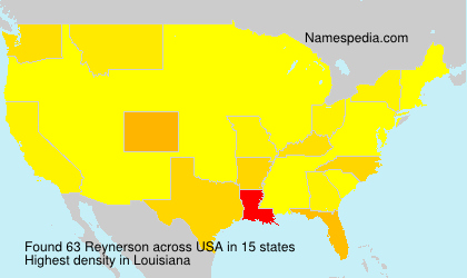 Surname Reynerson in USA