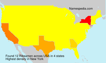Surname Ribsamen in USA