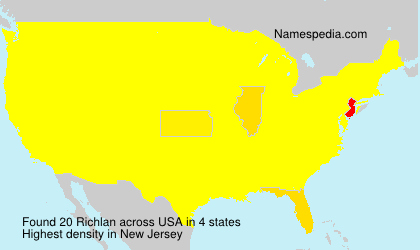 Surname Richlan in USA