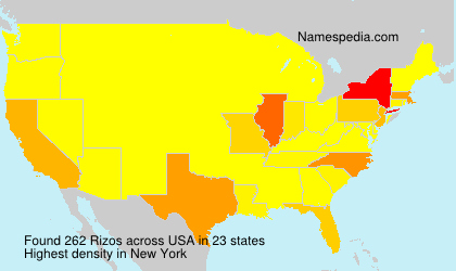 Surname Rizos in USA
