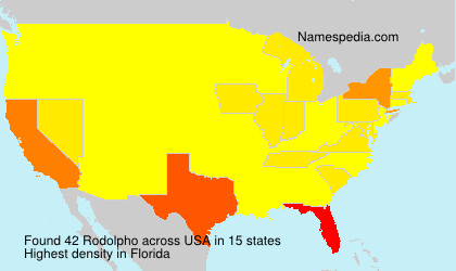 Surname Rodolpho in USA