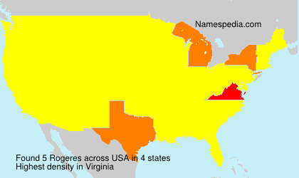 Surname Rogeres in USA