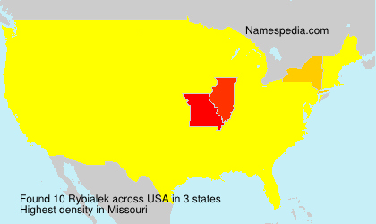 Surname Rybialek in USA