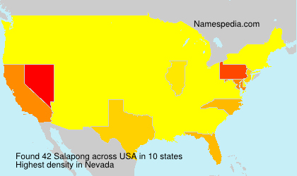 Surname Salapong in USA