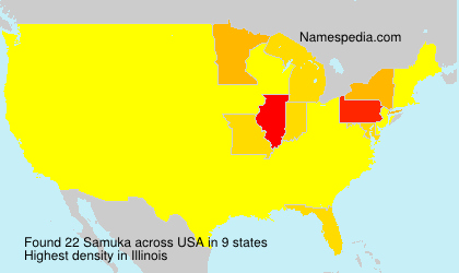 Surname Samuka in USA