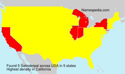 Surname Satinderpal in USA