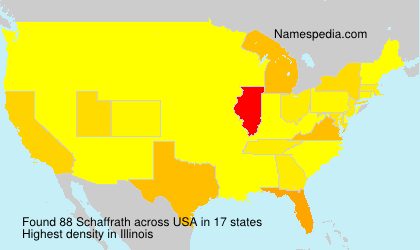 Surname Schaffrath in USA