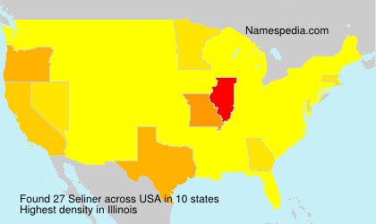 Surname Seliner in USA