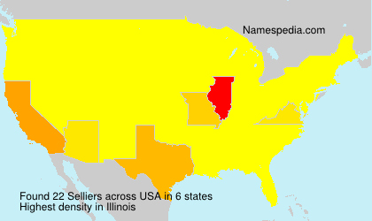 Surname Selliers in USA