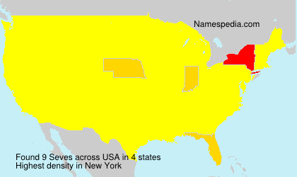 Surname Seves in USA